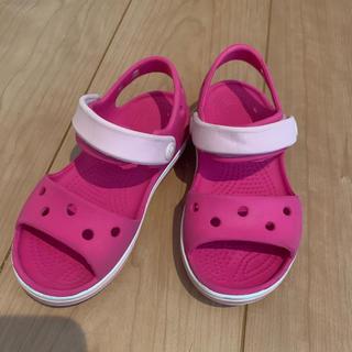 crocs - クロックス☆サンダル c9