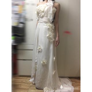 クリスチャンディオール(Christian Dior)の【お値下げ中!!!】ウェディングドレス ウェディングドレス 二次会ドレス(ウェディングドレス)
