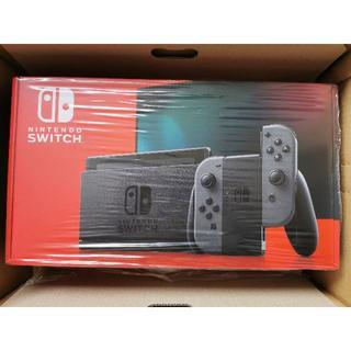 ニンテンドースイッチ(Nintendo Switch)の【新品未使用】スイッチ 本体 バッテリー持続時間が長くなった新モデル (家庭用ゲーム機本体)