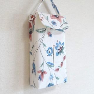 ハンドメイド ボックスティッシュカバー no215(インテリア雑貨)