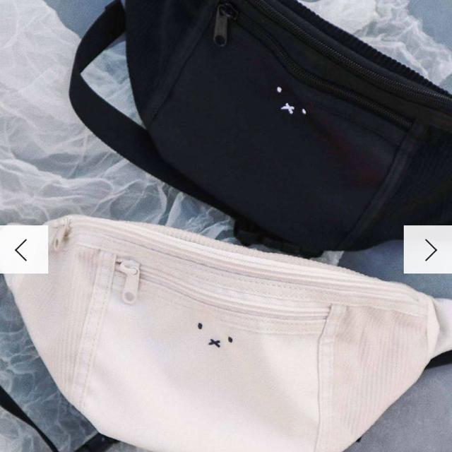 merry jenny(メリージェニー)のミッフィー  ウエストポーチ レディースのバッグ(ボディバッグ/ウエストポーチ)の商品写真