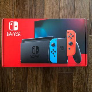 ニンテンドースイッチ(Nintendo Switch)の⭐️新品未開封⭐️任天堂 ニンテンドー スイッチ本体 ネオン(家庭用ゲーム機本体)