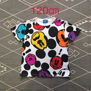 Disney - 【中古品】 キッズ   Tシャツ  ミッキーマウス