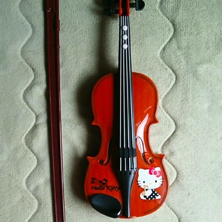 ハローキティ(ハローキティ)のキティ バイオリン(楽器のおもちゃ)