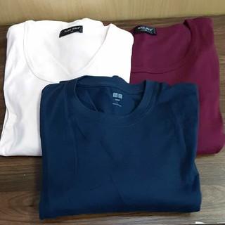 ユニクロ(UNIQLO)のユニクロのロングTシャツ1枚とBODYWAVEのTシャツ2枚の3枚まとめ売り(Tシャツ/カットソー(七分/長袖))