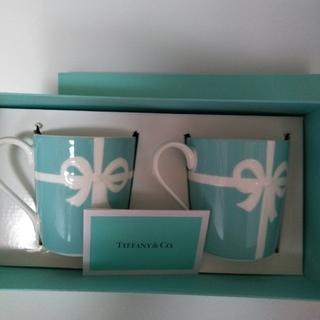 Tiffany & Co. - ティファニー ブルーボックス ペアマグカップ