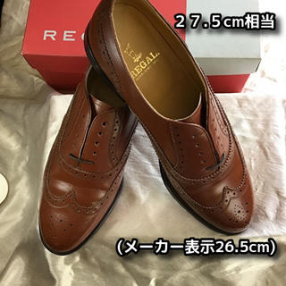 REGAL - REGAL ウイングチップ 27.5cm相当 ブラウン ビジネネスシューズ 革靴