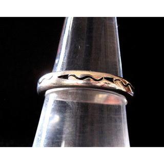 ビンテージ・Navajo/Silver Ring・ナバホ族/1990年代品(リング(指輪))