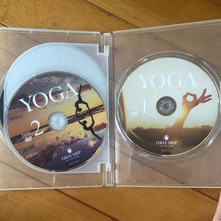 DVD 4枚セット(ハタ、リストラティブ、アーユルヴェーダ、機能解剖学、ヨガ哲学(ヨガ)