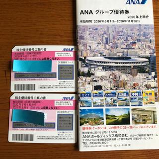 ANA(全日本空輸) - ANAグループ優待券&株主優待券