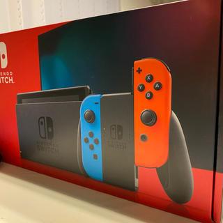 ニンテンドースイッチ(Nintendo Switch)の6/5発送 Nintendo Switch ネオン 新品(家庭用ゲーム機本体)