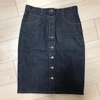 エストネーション(ESTNATION)のデニムタイトスカート デニムスカート(ひざ丈スカート)