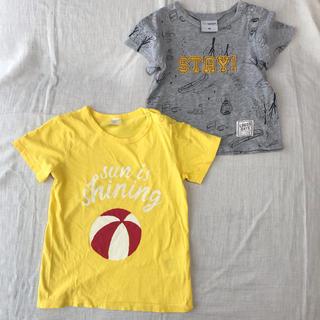 エイチアンドエム(H&M)のTシャツ2枚セット h&m バースデイ 90cm (Tシャツ/カットソー)