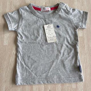POLO RALPH LAUREN - ポロベビー Tシャツ グレー 80 バースデイ