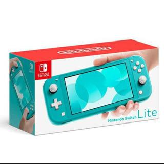 ニンテンドースイッチ(Nintendo Switch)の【新品】任天堂スイッチ ライト  本体(家庭用ゲーム機本体)