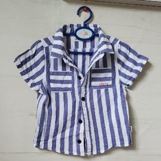 フタフタ(futafuta)のシャツ 半袖 ストライプ ボーダー キッズ ベビー 上着(ブラウス)