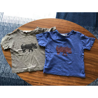 ボンポワン(Bonpoint)のボンポワンbonpoint とBONTON 半袖Tシャツ 3枚セット(シャツ/カットソー)