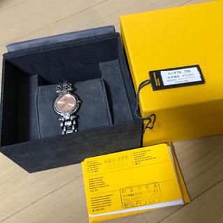 FENDI - 美品 フェンディ   750L 文字盤 ピンク クオーツ