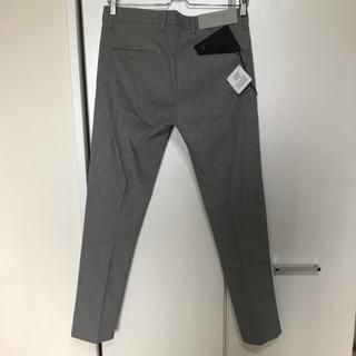 ザラ(ZARA)のZARA MAN ザラ CROPPED クロップド パンツ 1回着用、未洗濯(スラックス)