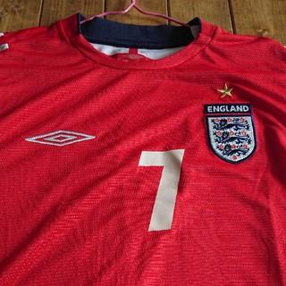 アンブロ(UMBRO)のサッカーイングランドユニフォーム(ウェア)