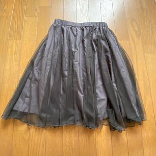 クチュールブローチ(Couture Brooch)のクチュールブローチ チュールスカート(ひざ丈スカート)