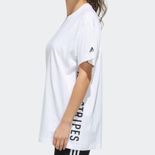 アディダス(adidas)の【新品】adidas ワーディングプリント レディース Tシャツ Mサイズ(Tシャツ(半袖/袖なし))