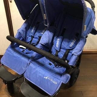 エアバギー(AIRBUGGY)の送料無料 エアバギー ココダブル 2人乗り(ベビーカー/バギー)