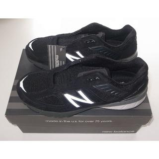New Balance - new balance M990v5 M990BK5 black US9 27