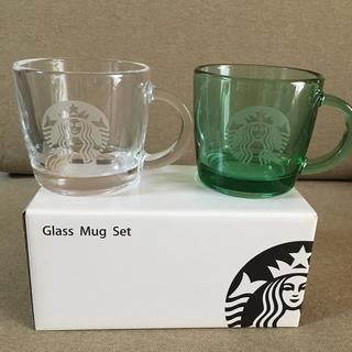 Starbucks Coffee - スタバ グラスマグ セット