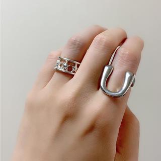 アパルトモンドゥーズィエムクラス(L'Appartement DEUXIEME CLASSE)の馬蹄ring(リング(指輪))