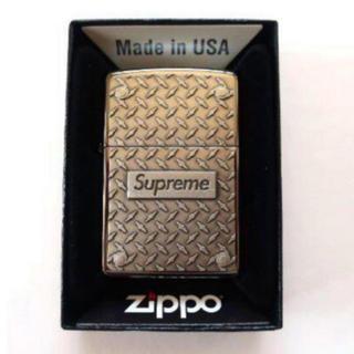 シュプリーム(Supreme)の19Supreme Diamond Plate Zippoジッポライター(タバコグッズ)
