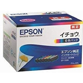 エプソン イチョウ 6色パック   EPSONインクカートリッジ(PC周辺機器)