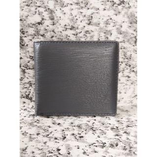 エピ柄  折り財布《ライトグレー》(折り財布)