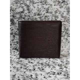 エピ柄  折り財布《ブラウン》(折り財布)