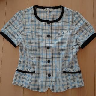 ジョア(Joie (ファッション))のオーバーブラウス 事務服(シャツ/ブラウス(半袖/袖なし))