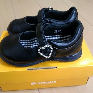 ムーンスター(MOONSTAR )の女の子 靴 15.5cm フォーマル ブラック (フォーマルシューズ)