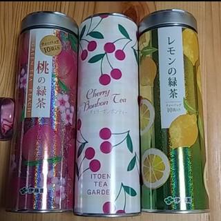 伊藤園 - お得de美味☆伊藤園☆桃の緑茶&チェリーボンボンティー&レモンの緑茶