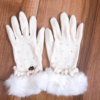 リズリサ(LIZ LISA)の手袋 リズリサ オフホワイト(手袋)