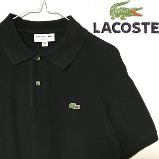 LACOSTE - 美品!日本製!LACOSTE ラコステ ワニマーク ポロシャツ L1212