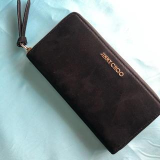 ジミーチュウ(JIMMY CHOO)の【新品•未使用】ジミーチュウのラウンドファスナー(財布)