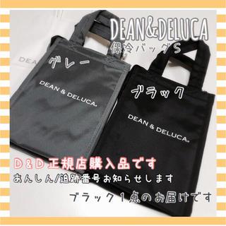 ディーンアンドデルーカ(DEAN & DELUCA)の正規品DEAN&DELUCA保冷バッグSクーラーバッグ黒 エコバッグランチバッグ(エコバッグ)