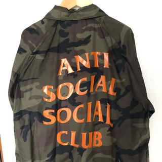 アンチ(ANTI)のanti social social club コーチジャケット(ナイロンジャケット)