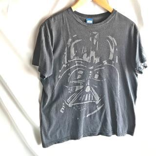 ディズニー(Disney)のSTAR WARS スターウォーズ ダースベイダー 半袖Tシャツ 黒US古着(Tシャツ/カットソー(半袖/袖なし))