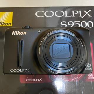 ニコン(Nikon)のニコン クールピクス S9500  マットブラック(コンパクトデジタルカメラ)
