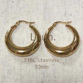 Adam et Rope' - j303.plump hoop pierce(gold)