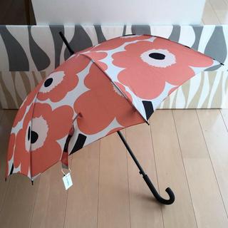 マリメッコ(marimekko)のまっちゃ様専用 新品 マリメッコ ウニッコ 長傘 スマートバッグ(傘)