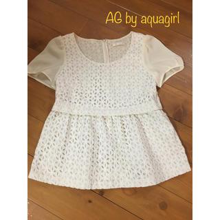 エージーバイアクアガール(AG by aquagirl)のAG by aquagirl(シャツ/ブラウス(半袖/袖なし))