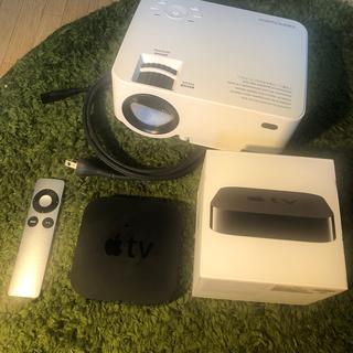 アップル(Apple)のApple TVとプロジェクター(プロジェクター)