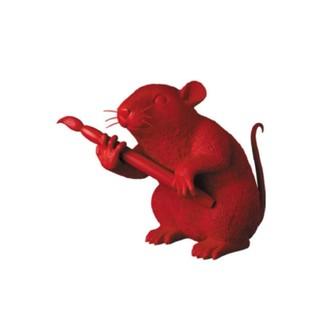 メディコムトイ(MEDICOM TOY)のLOVE RAT (RED Ver.) MCT TOKYO バンクシー 即日発送(彫刻/オブジェ)