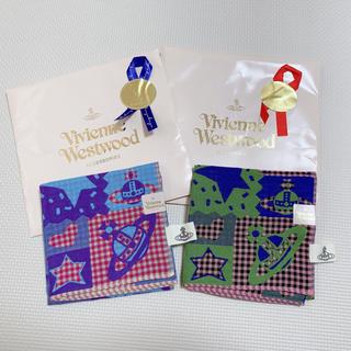 ヴィヴィアンウエストウッド(Vivienne Westwood)のVivienne Westwood ハンカチ2枚(ハンカチ)
